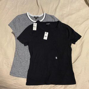 Two (2) t-shirts from Express